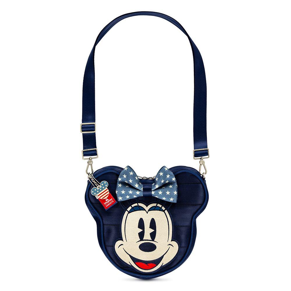 Mickey and Minnie Mouse Americana Crossbody Bag by Harveys