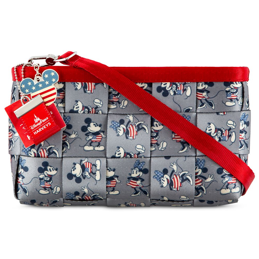 Mickey and Minnie Mouse Americana Hip Pack by Harveys