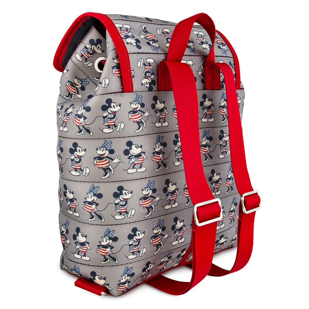 Mickey and Minnie Mouse Americana Backpack by Harveys