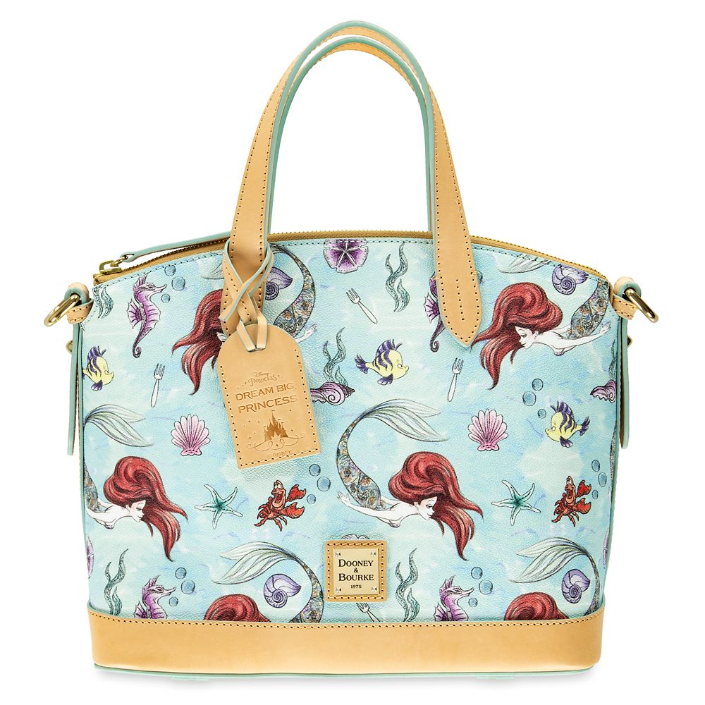 The Little Mermaid Dome Satchel by Dooney & Bourke