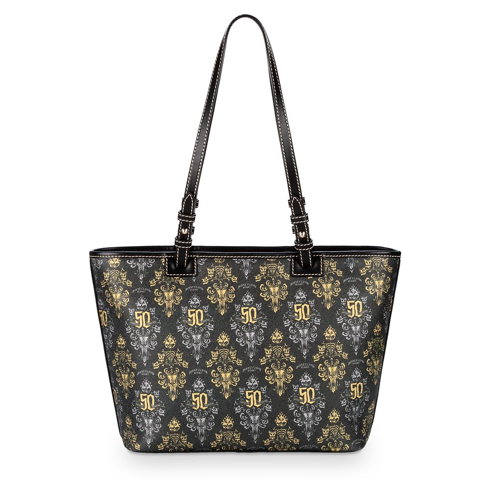 The Haunted Mansion 50th Anniversary Tote by Dooney & Bourke