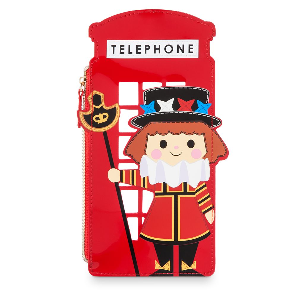 Disney it's a small world Beefeater Zip Case