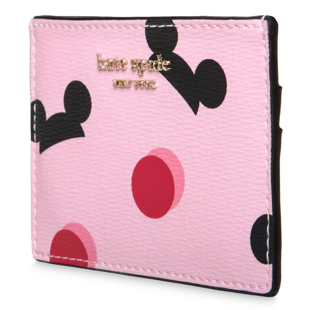 Mickey Mouse Ear Hat Credit Card Case by kate spade new york – Pink