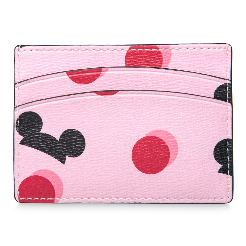 150e135f0 Mickey Mouse Ear Hat Credit Card Case by kate spade new york – Pink