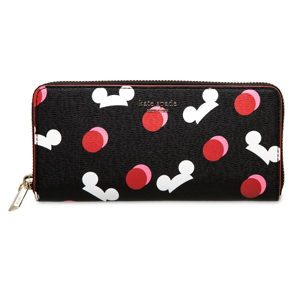 24 Unique Disney Gift Ideas featured by top US Disney blogger, Marcie and the Mouse Mickey Mouse Ear Hat Wallet by kate spade new york Black Official shopDisney
