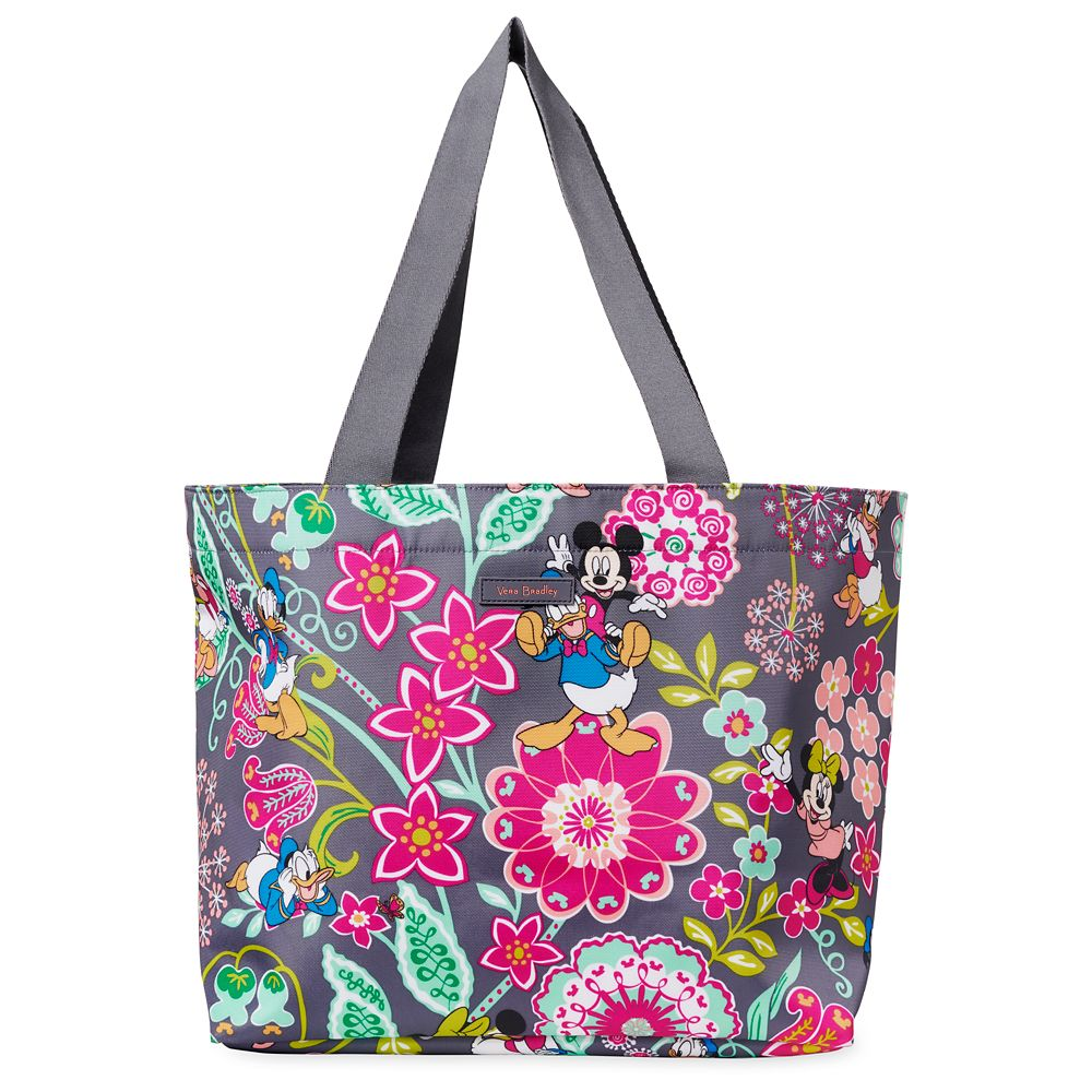 Mickey Mouse and Friends Drawstring Tote by Vera Bradley Official shopDisney