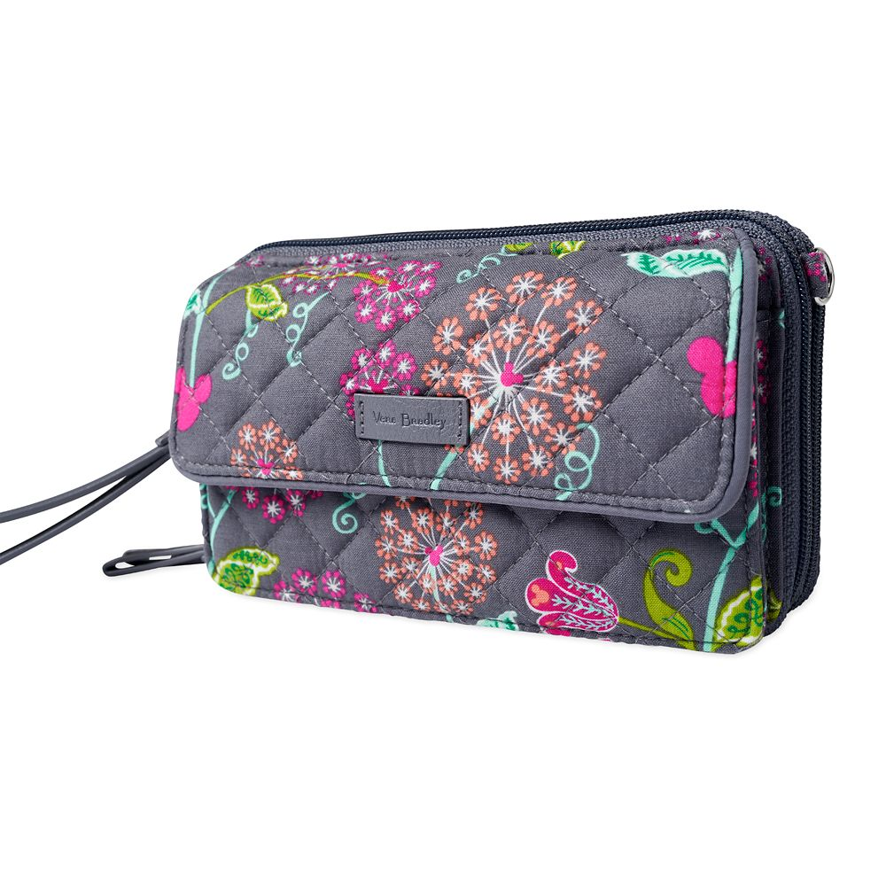 Mickey Mouse and Friends All in One Crossbody and Wristlet by Vera Bradley