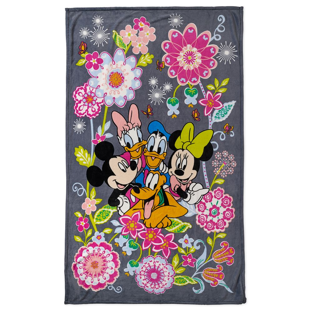 Mickey Mouse and Friends Throw Blanket by Vera Bradley