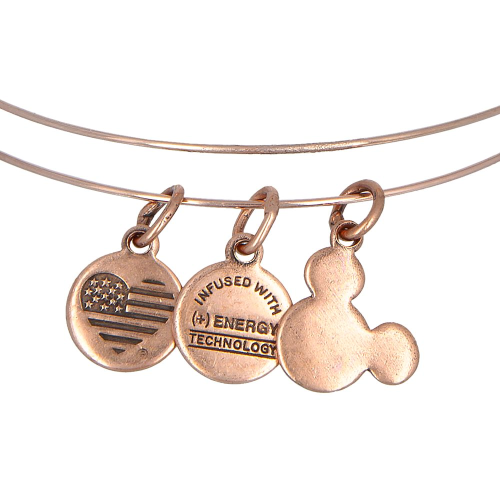Mickey and Minnie Mouse Icon Beaded Bangle by Alex and Ani