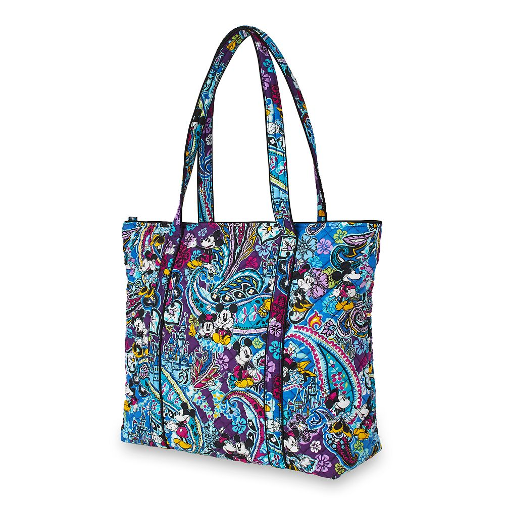 Mickey and Minnie Mouse Paisley Tote by Vera Bradley