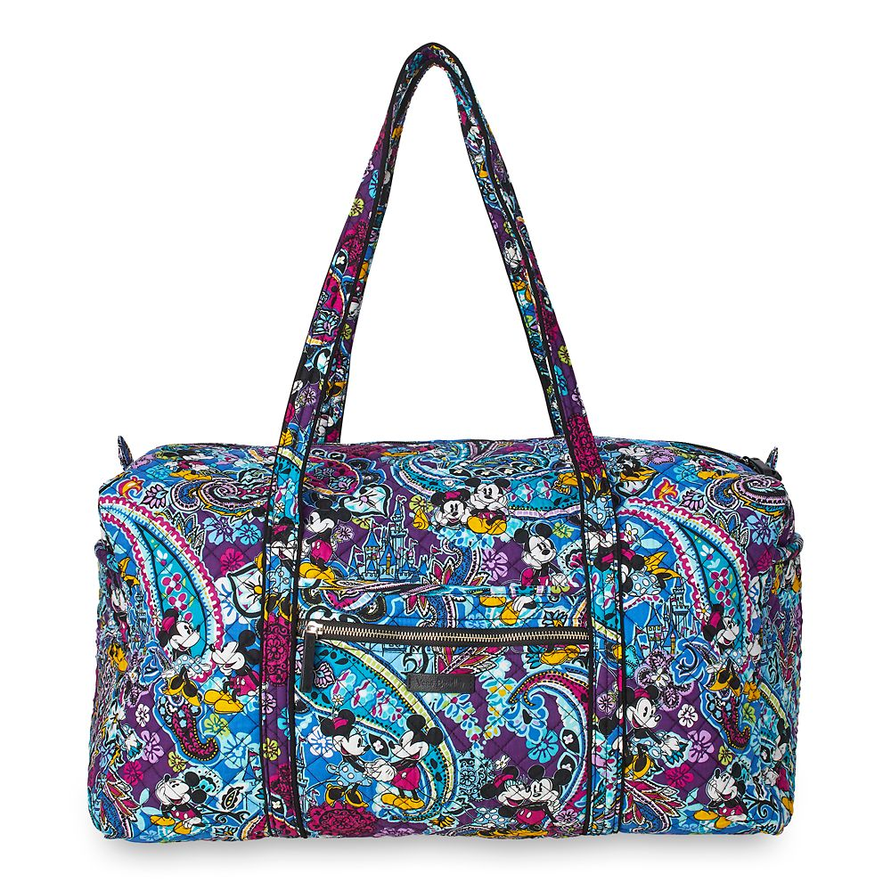 Mickey and Minnie Mouse Paisley Duffel Bag by Vera Bradley