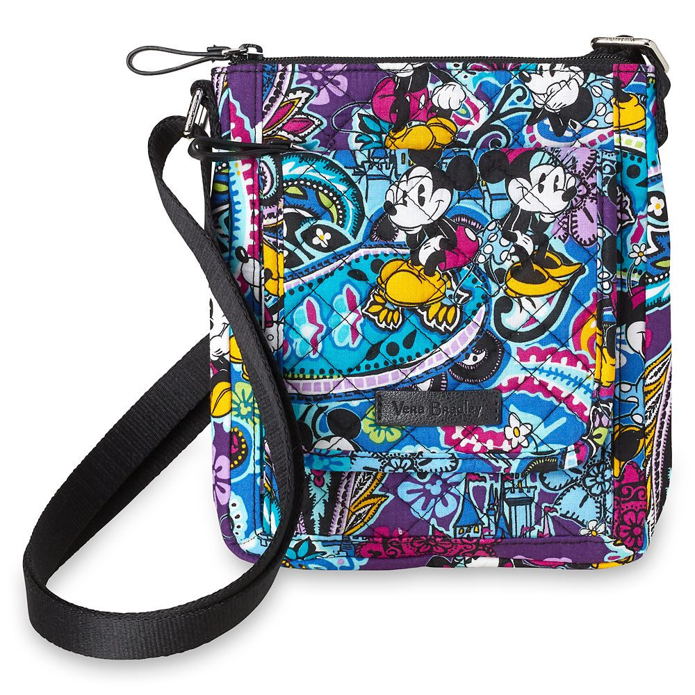 Mickey and Minnie Mouse Paisley Mini Hipster Bag by Vera Bradley