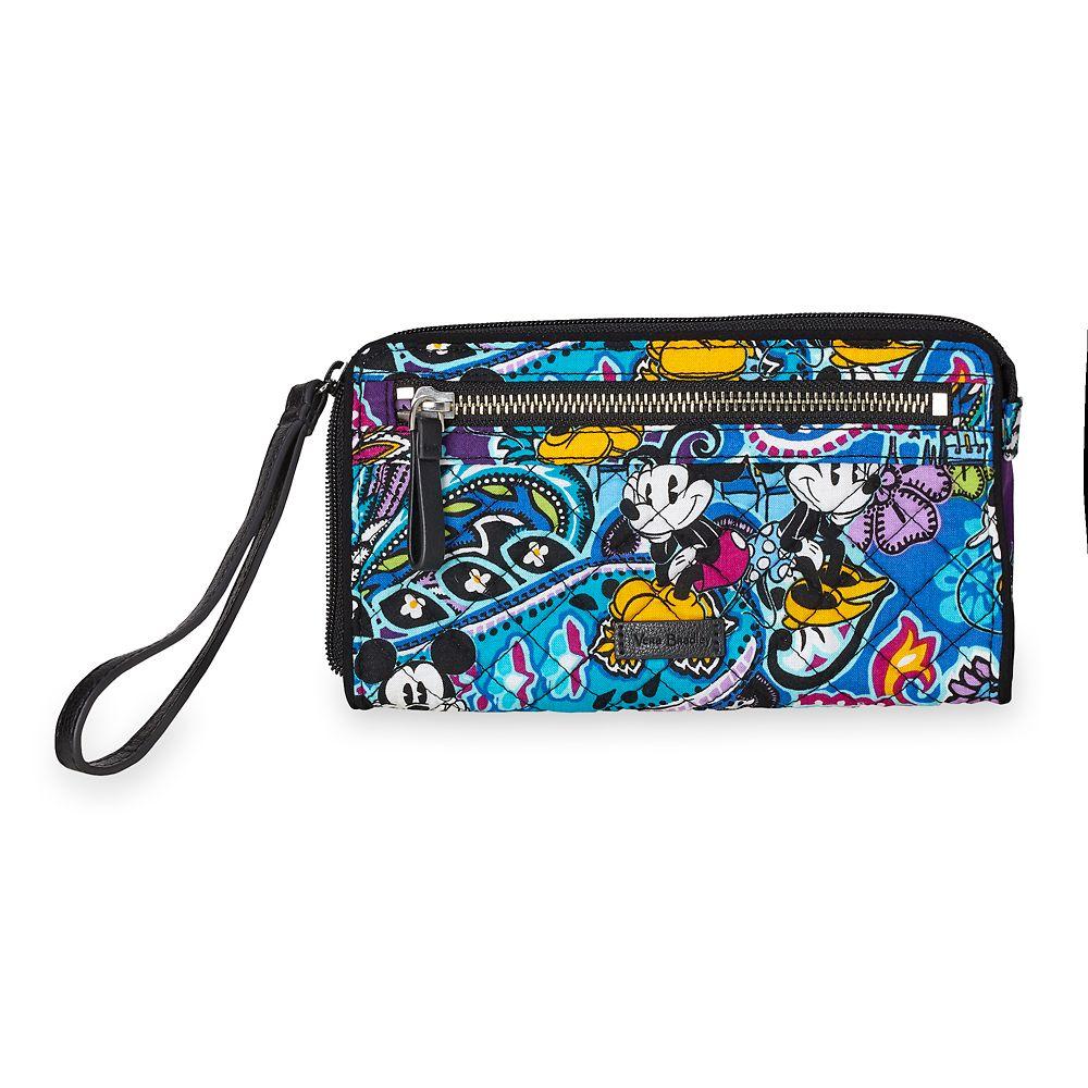 Mickey and Minnie Mouse Paisley Wristlet by Vera Bradley