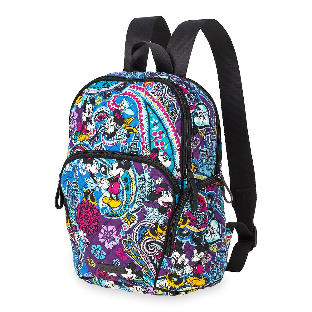 Mickey and Minnie Mouse Paisley Hadley Backpack by Vera Bradley