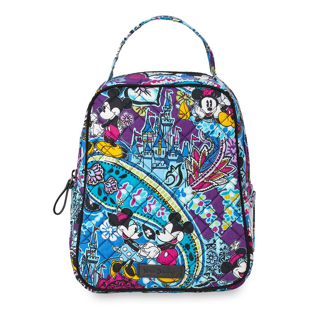 Mickey and Minnie Mouse Paisley Lunch Bunch Bag by Vera Bradley Official shopDisney