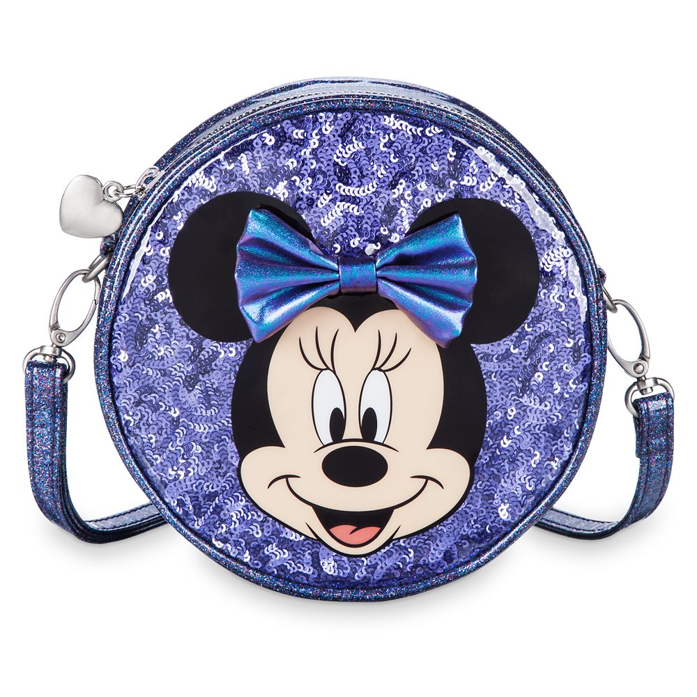 Minnie Mouse Potion Purple Crossbody Bag for Kids