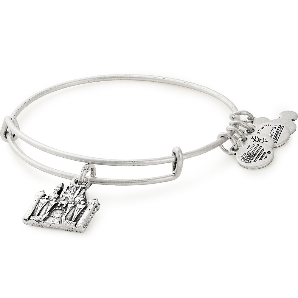 Sleeping Beauty Castle Figural Bangle by Alex and Ani