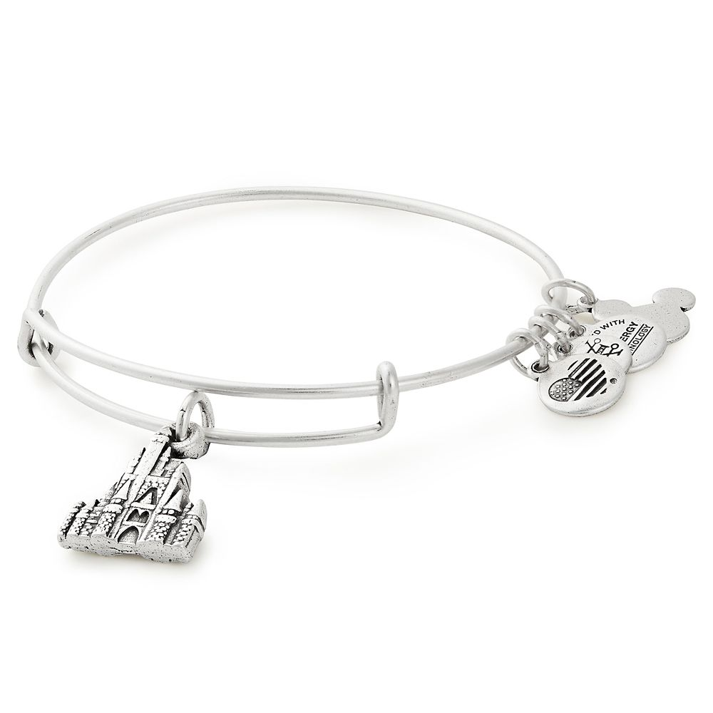 Cinderella Castle Figural Bangle by Alex and Ani