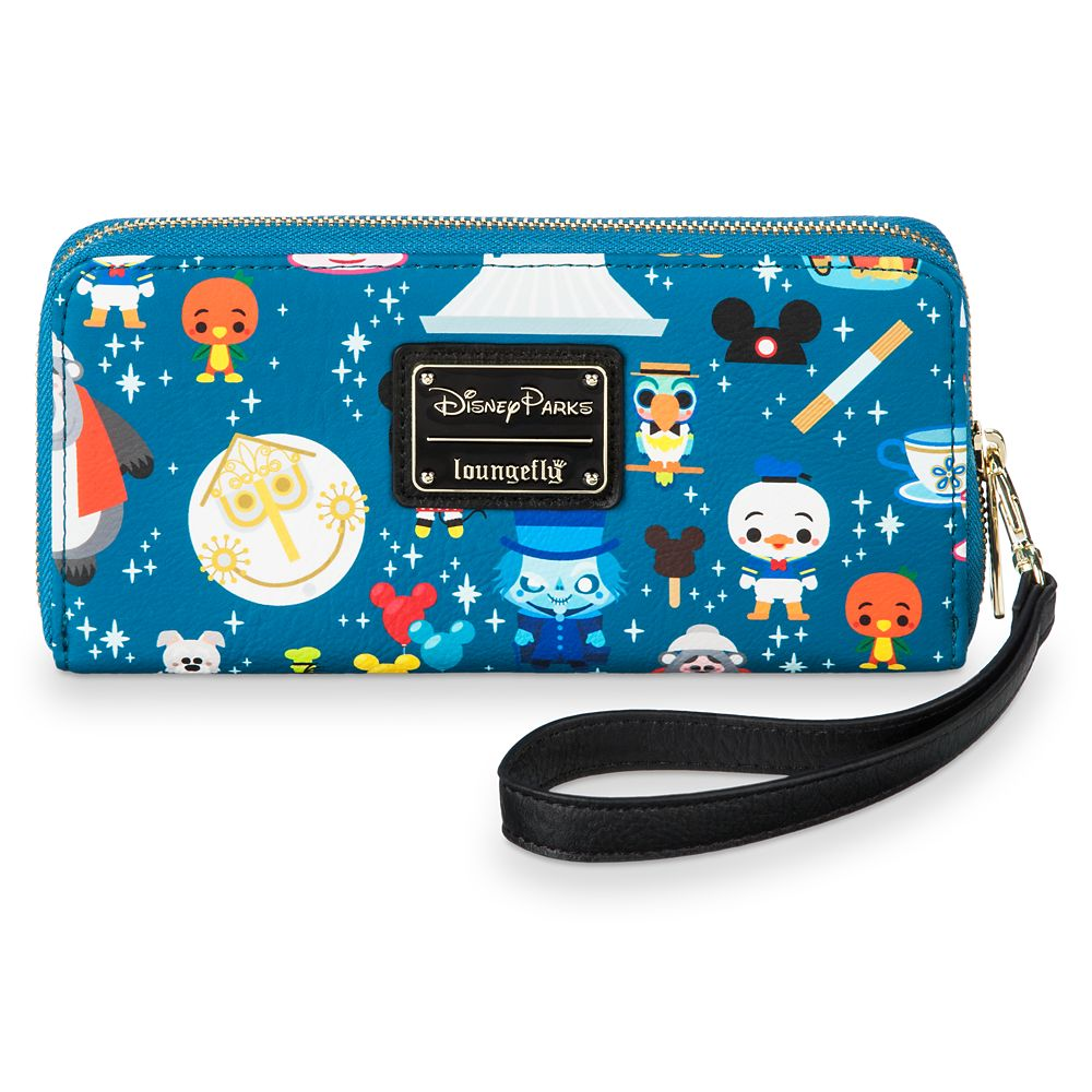 Disney Parks Minis Zip-Around Wristlet Wallet by Loungefly