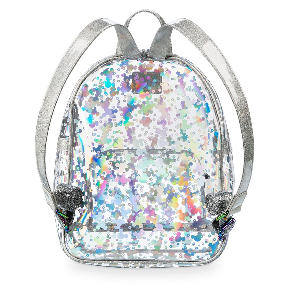 Mickey Mouse Magic Mirror Metallic Mini Backpack by Loungefly
