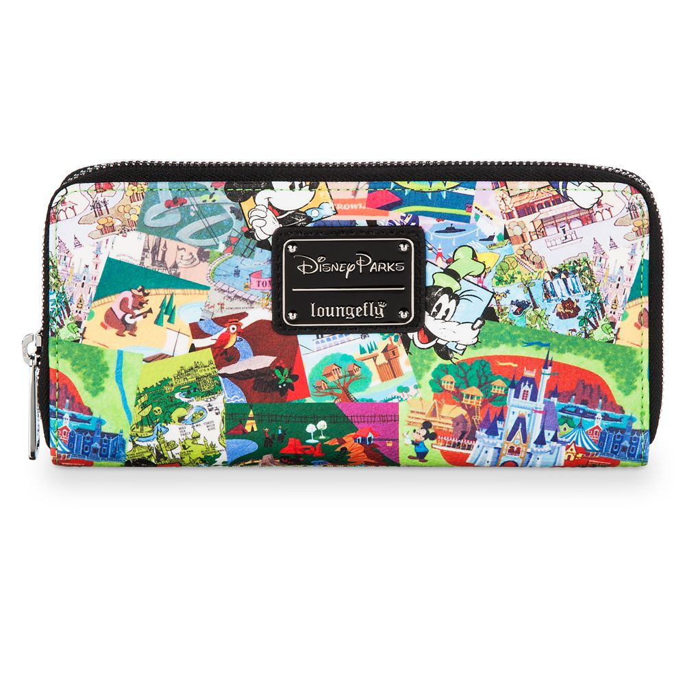 Disney Parks Collage Wallet by Loungefly