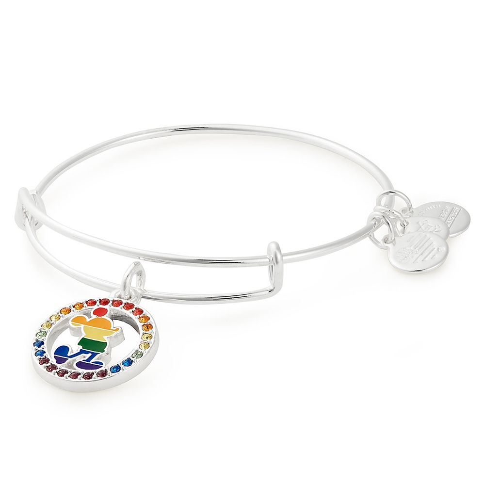 Rainbow Disney Collection Mickey Mouse Bangle by Alex and Ani