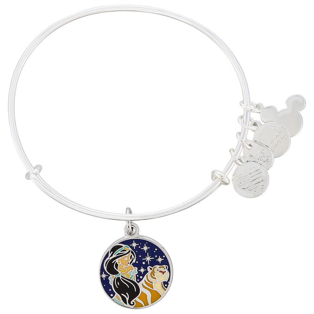 Jasmine and Rajah Bangle by Alex and Ani  Aladdin Official shopDisney