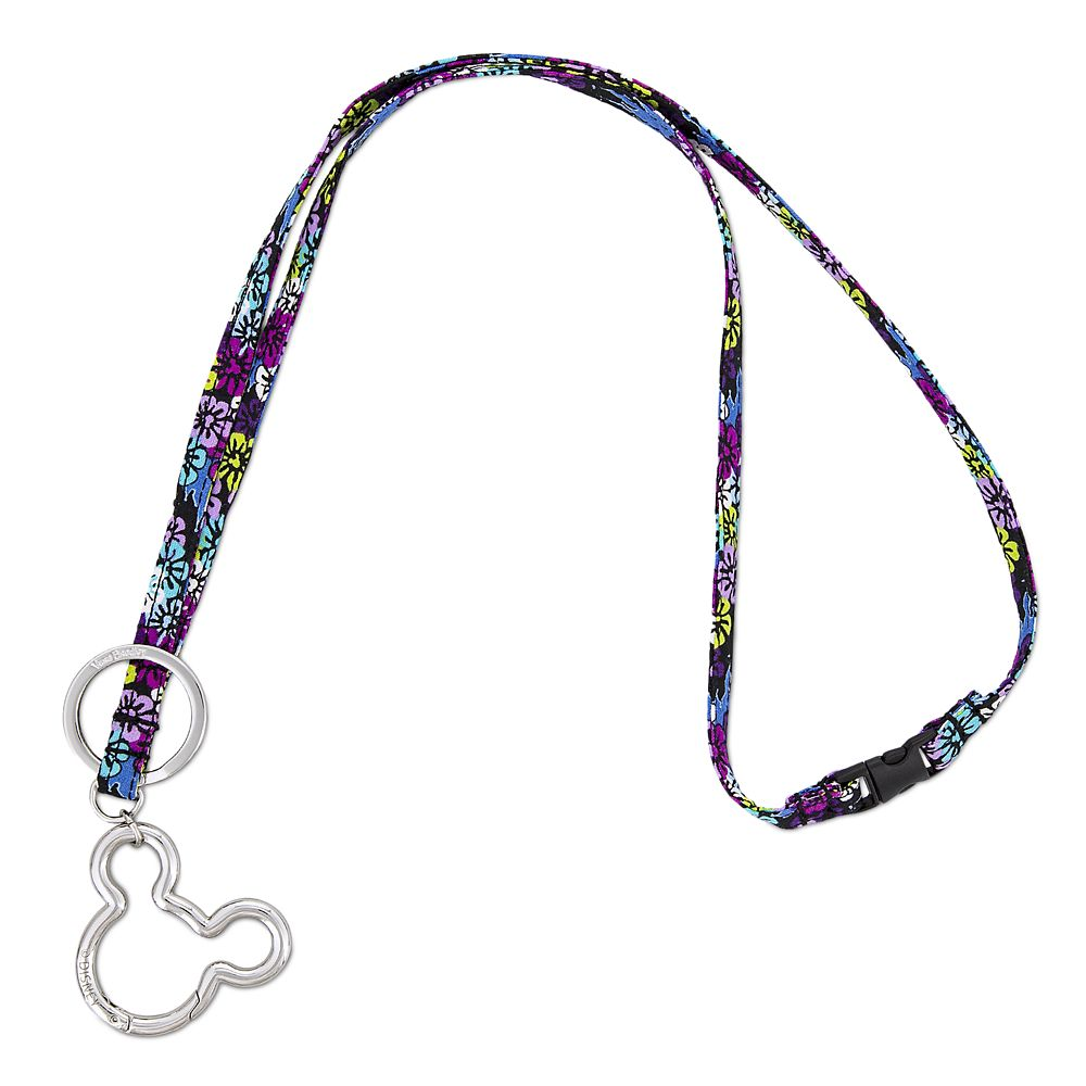 Mickey and Minnie Mouse Paisley Lanyard by Vera Bradley