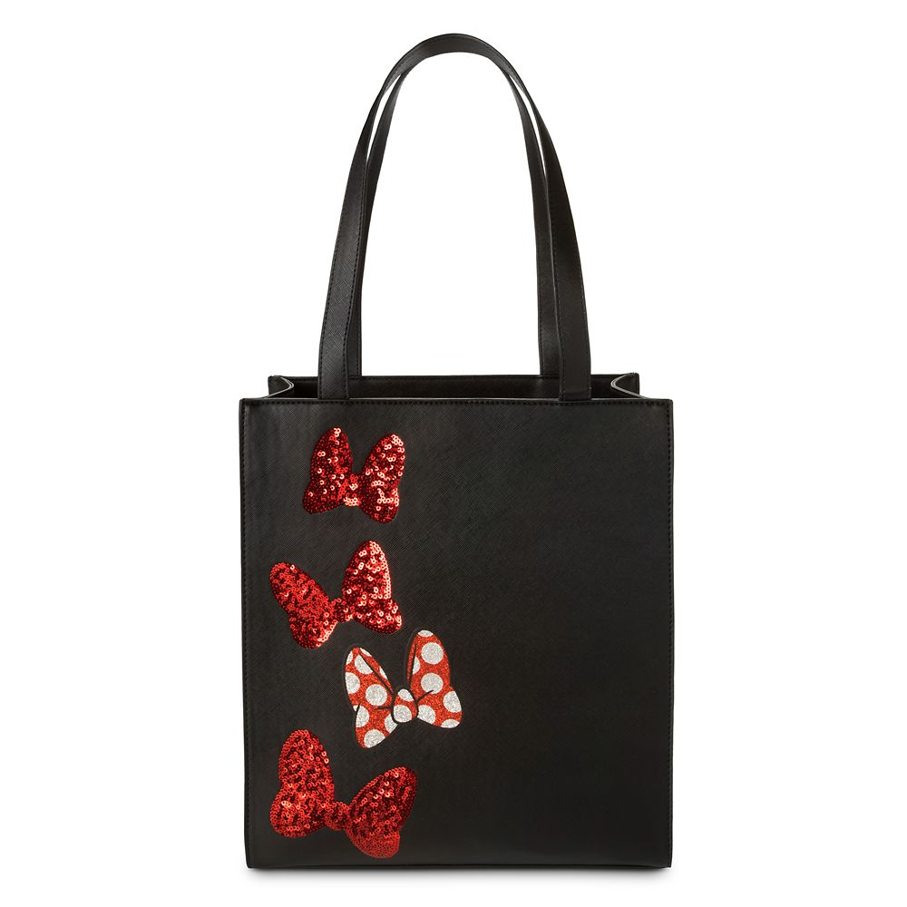 Minnie Mouse Sequined Bow Tote Official shopDisney