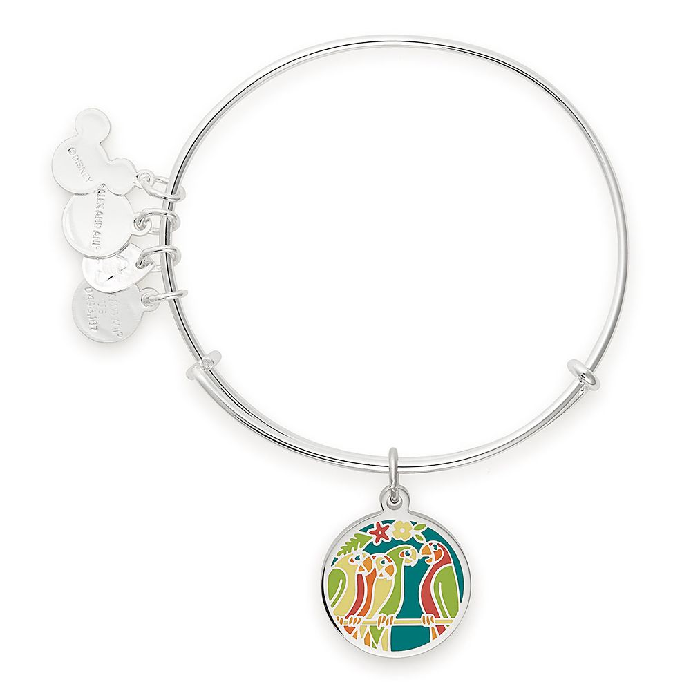 Enchanted Tiki Room Bangle by Alex and Ani – Silver
