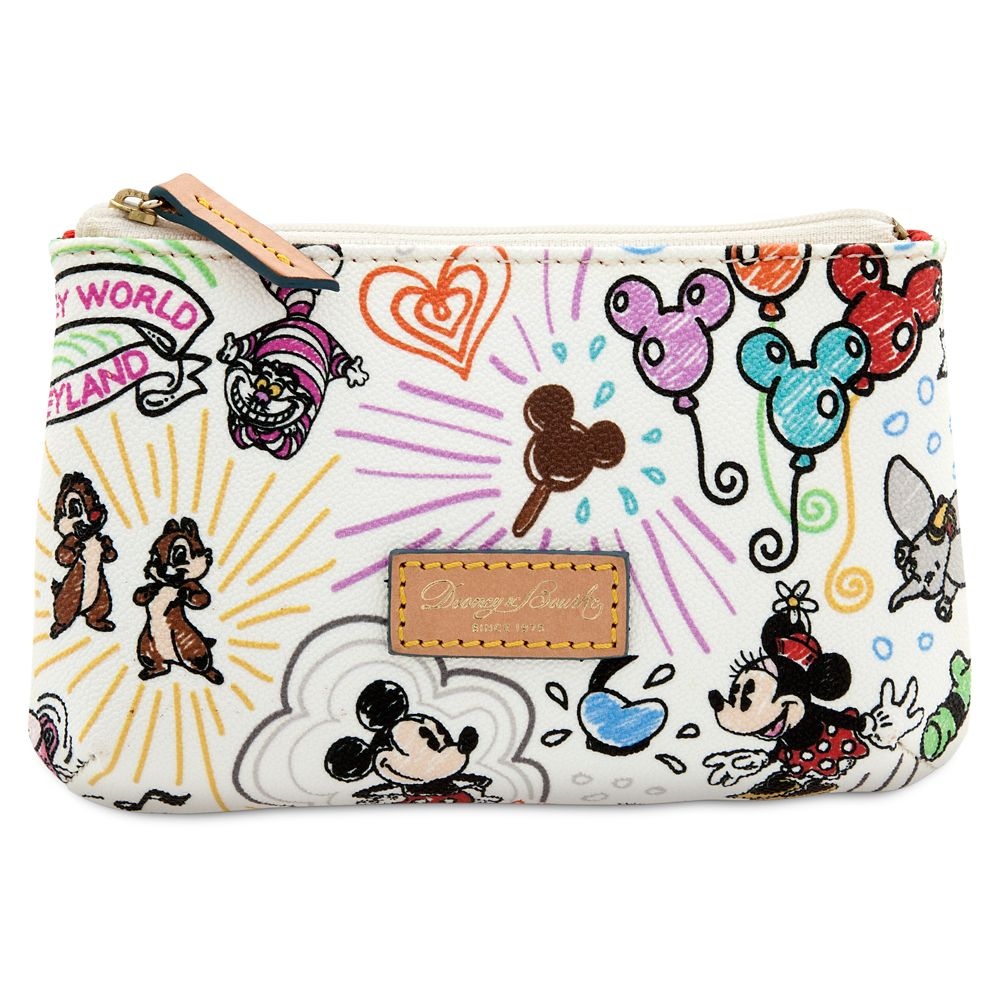 Disney Sketch Cosmetic Case by Dooney & Bourke