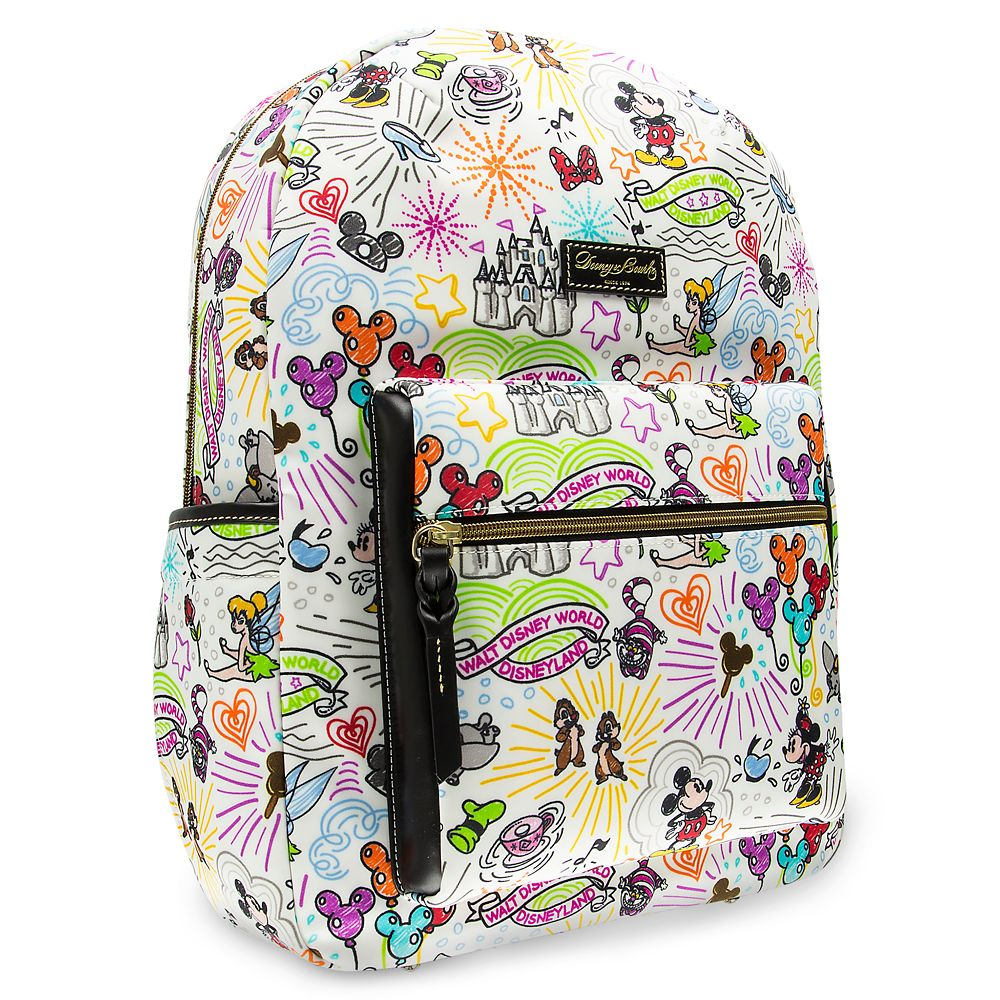 Disney Sketch Backpack by Dooney & Bourke. Perfect for your Disney World packing list.