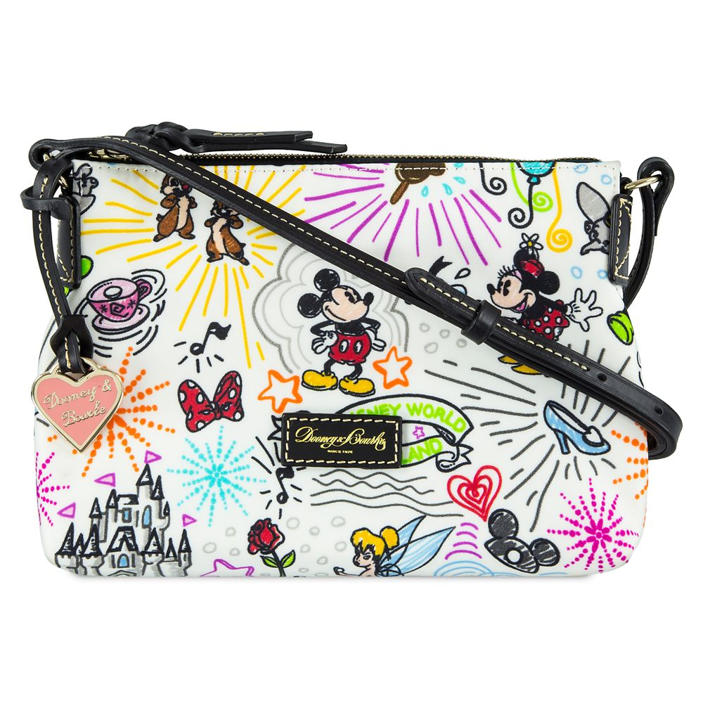Disney Sketch Nylon Crossbody Bag by Dooney & Bourke