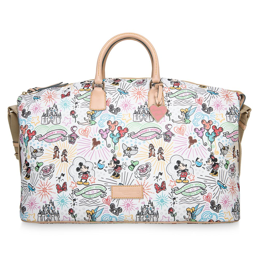 Disney Sketch Weekender Bag by Dooney & Bourke