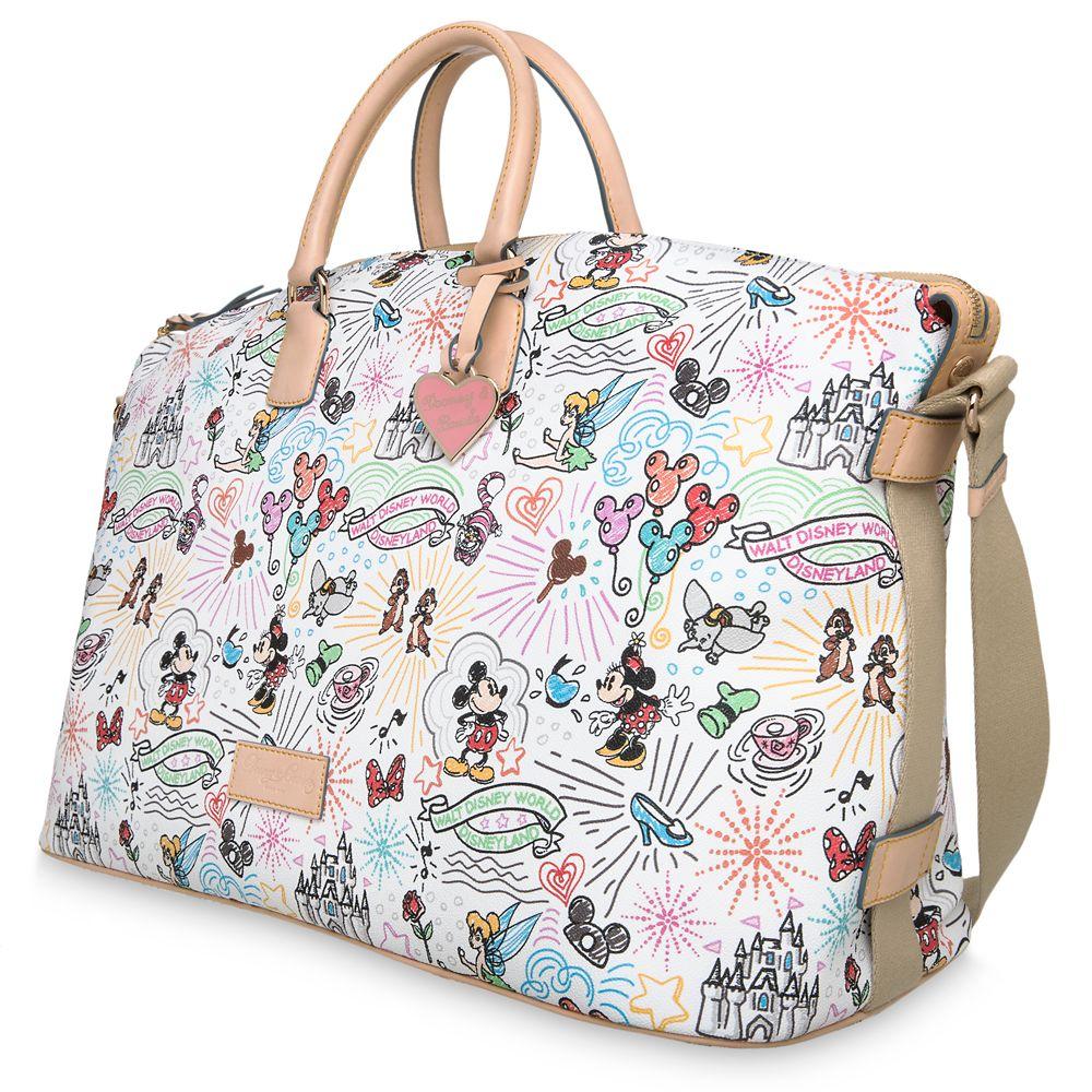 Disney Sketch Weekender Bag by Dooney & Bourke