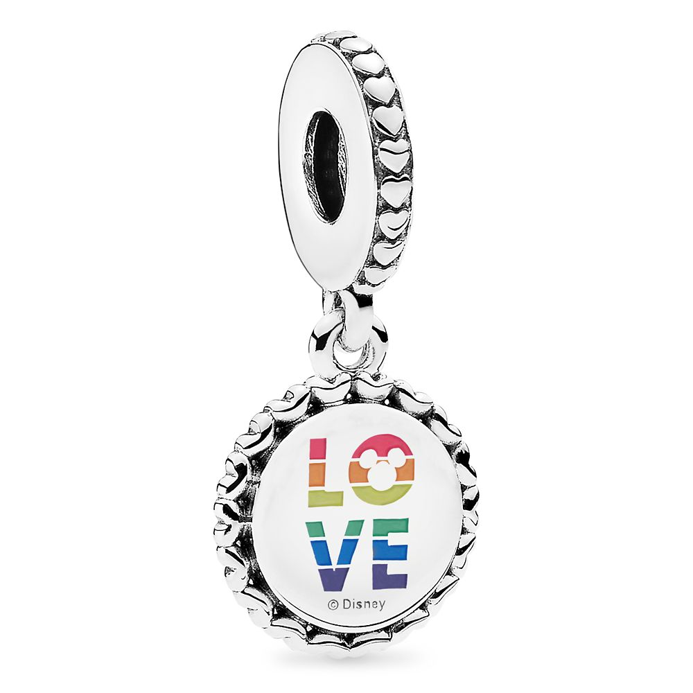 Mickey Mouse Rainbow Charm by Pandora Jewelry