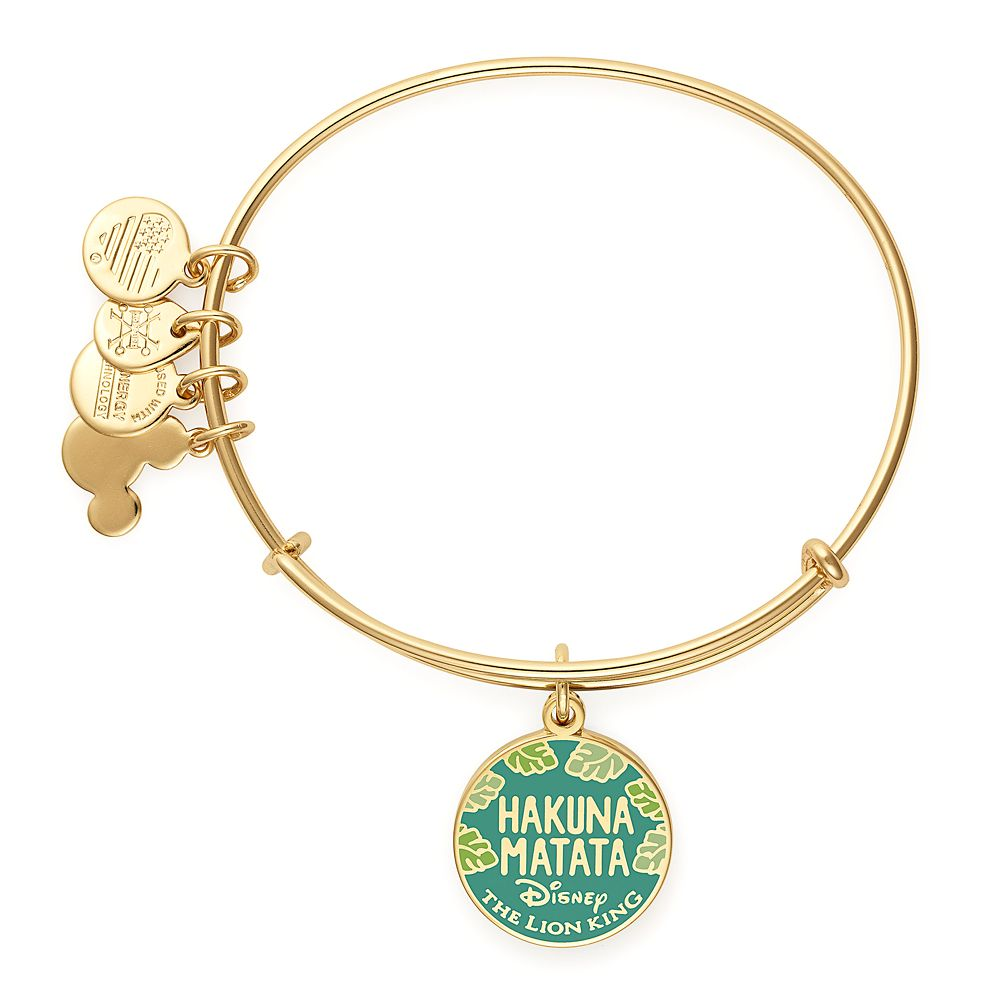 The Lion King Bangle by Alex and Ani – Gold
