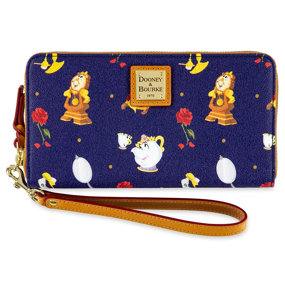 Beauty and the Beast Wallet by Dooney & Bourke Official shopDisney