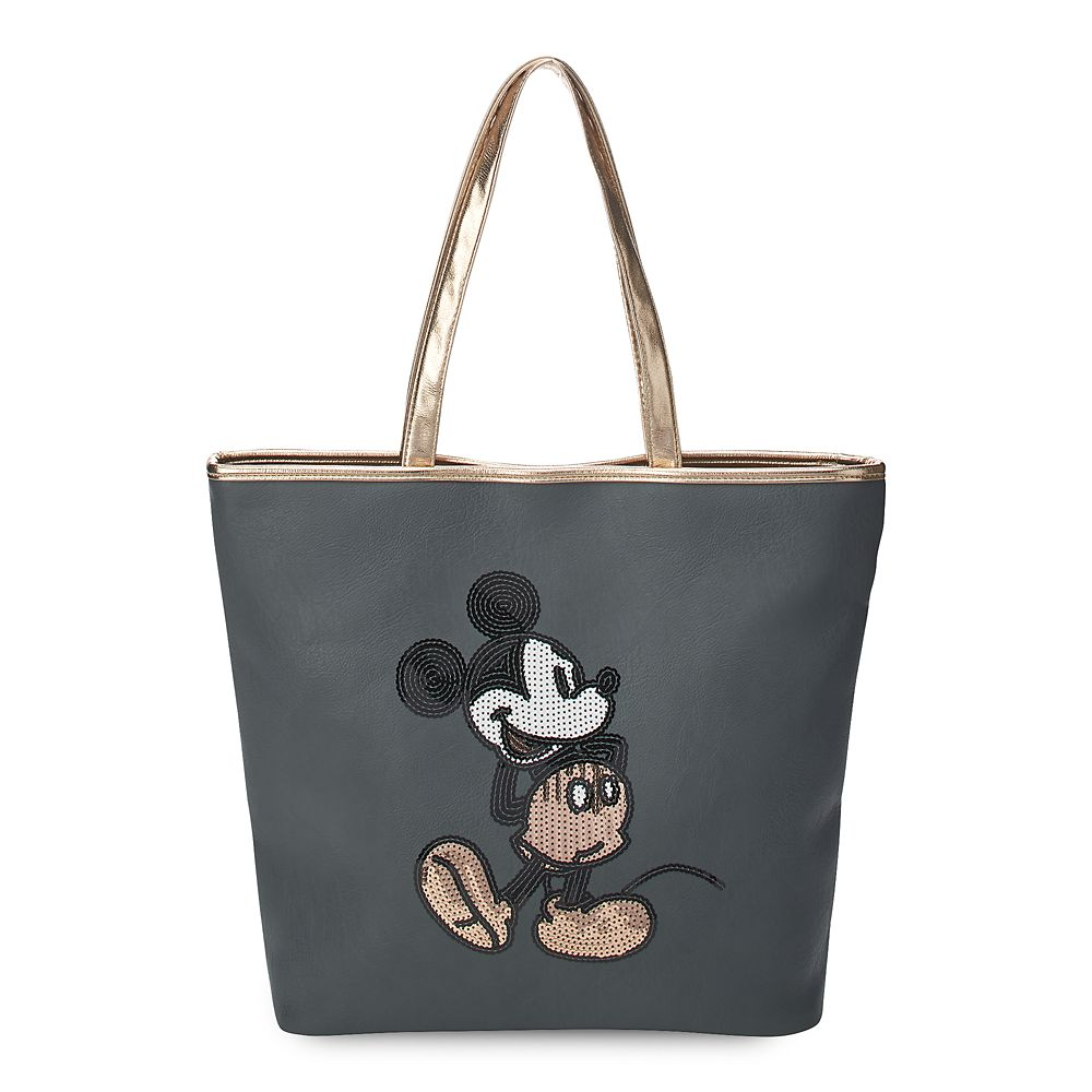 Mickey Mouse Rose Gold Tote by Loungefly