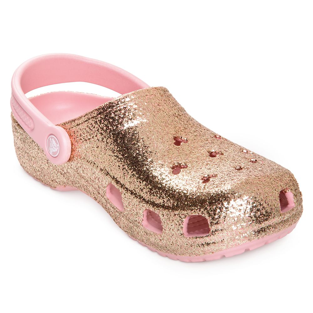 Briar Rose Gold Clogs for Adults by Crocs