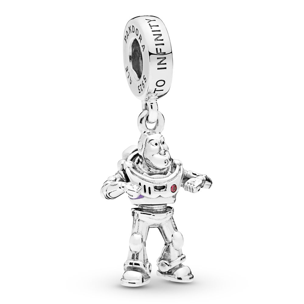 pandora disney jewelry collection silver cz minnie & mickey infinity charm