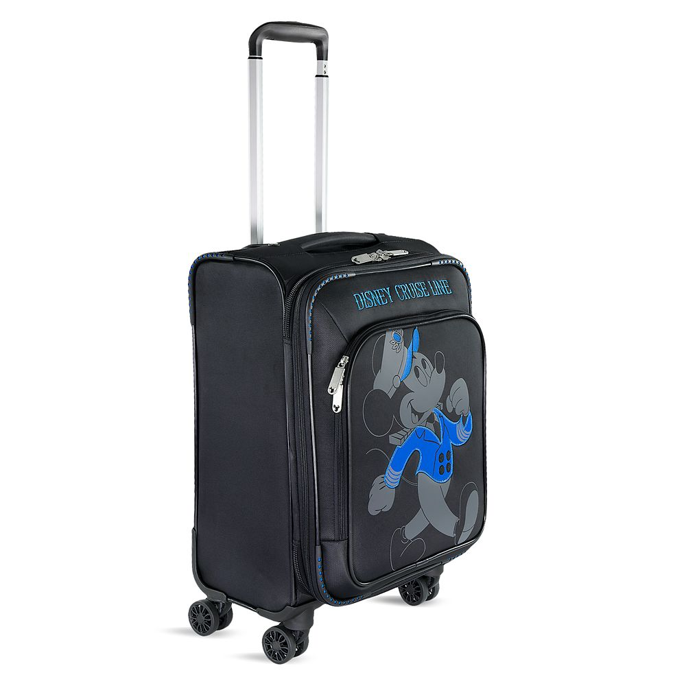 Mickey Mouse Timeless Rolling Luggage - 21'' - Disney Cruise Line