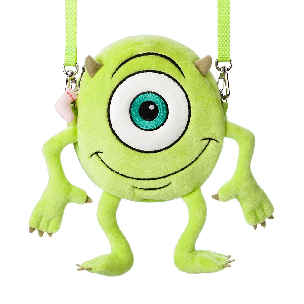 Mike Wazowski Plush Crossbody Bag