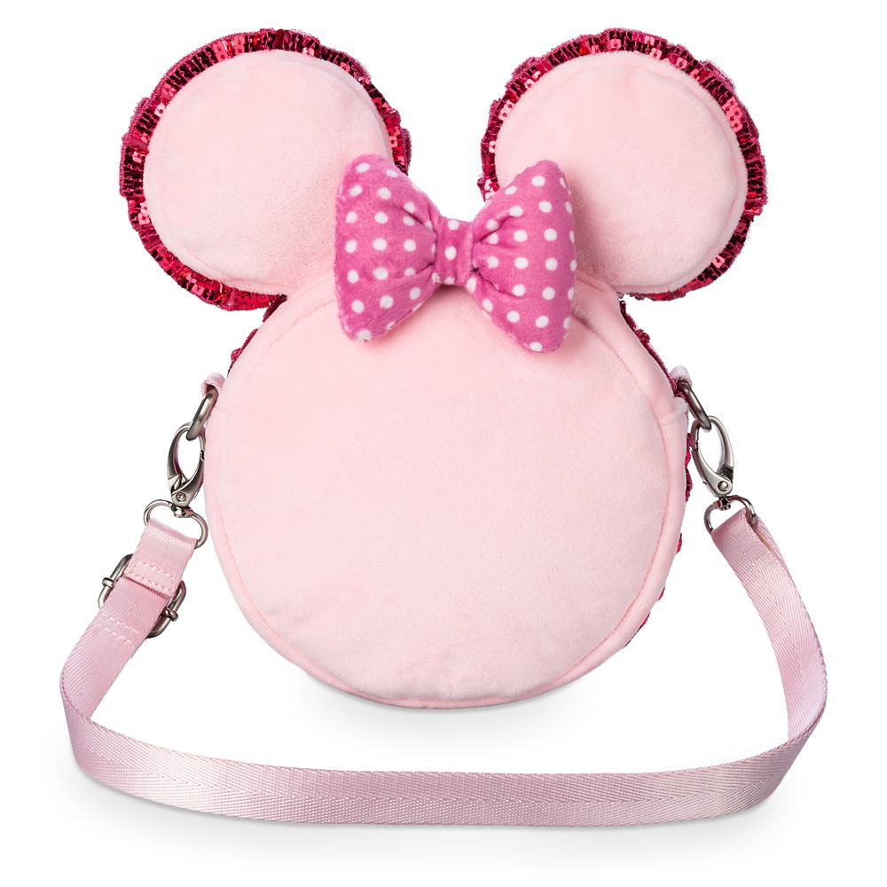 Minnie Mouse Macaron Plush Crossbody Bag