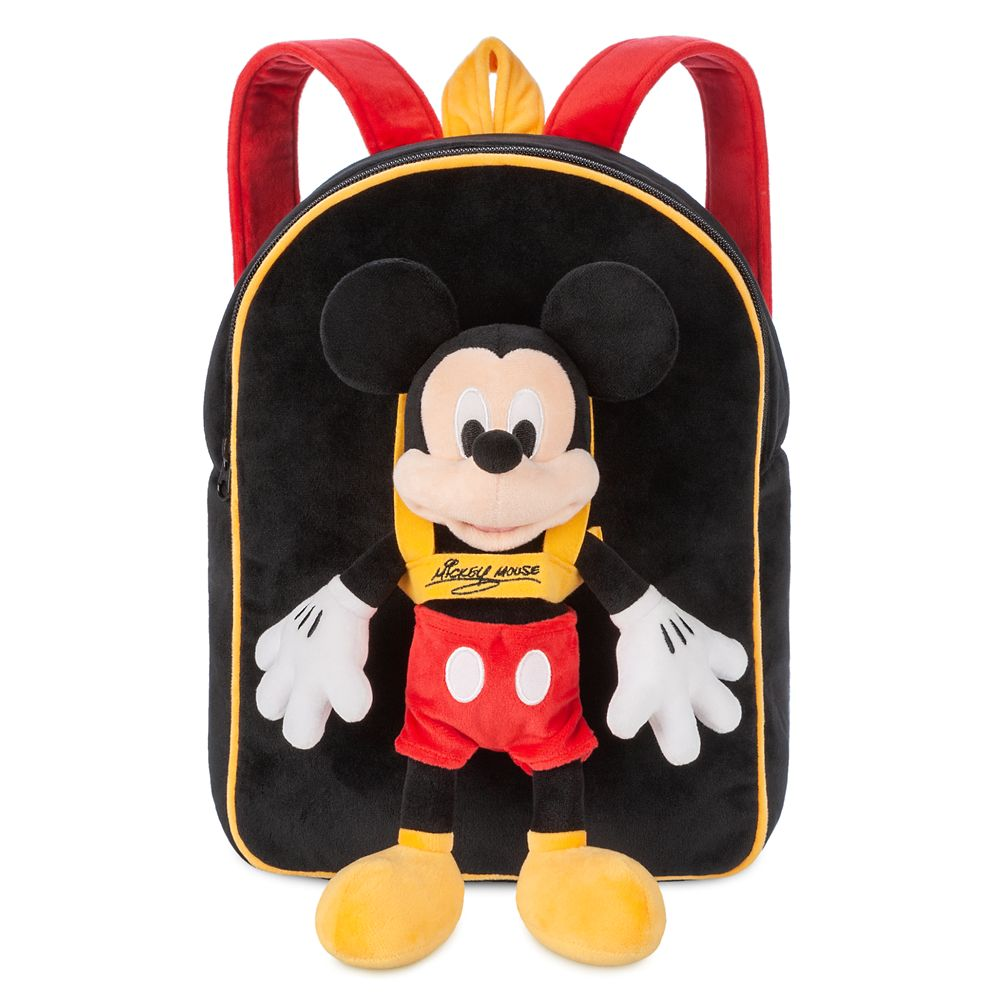Mickey Mouse Plush Doll and Backpack