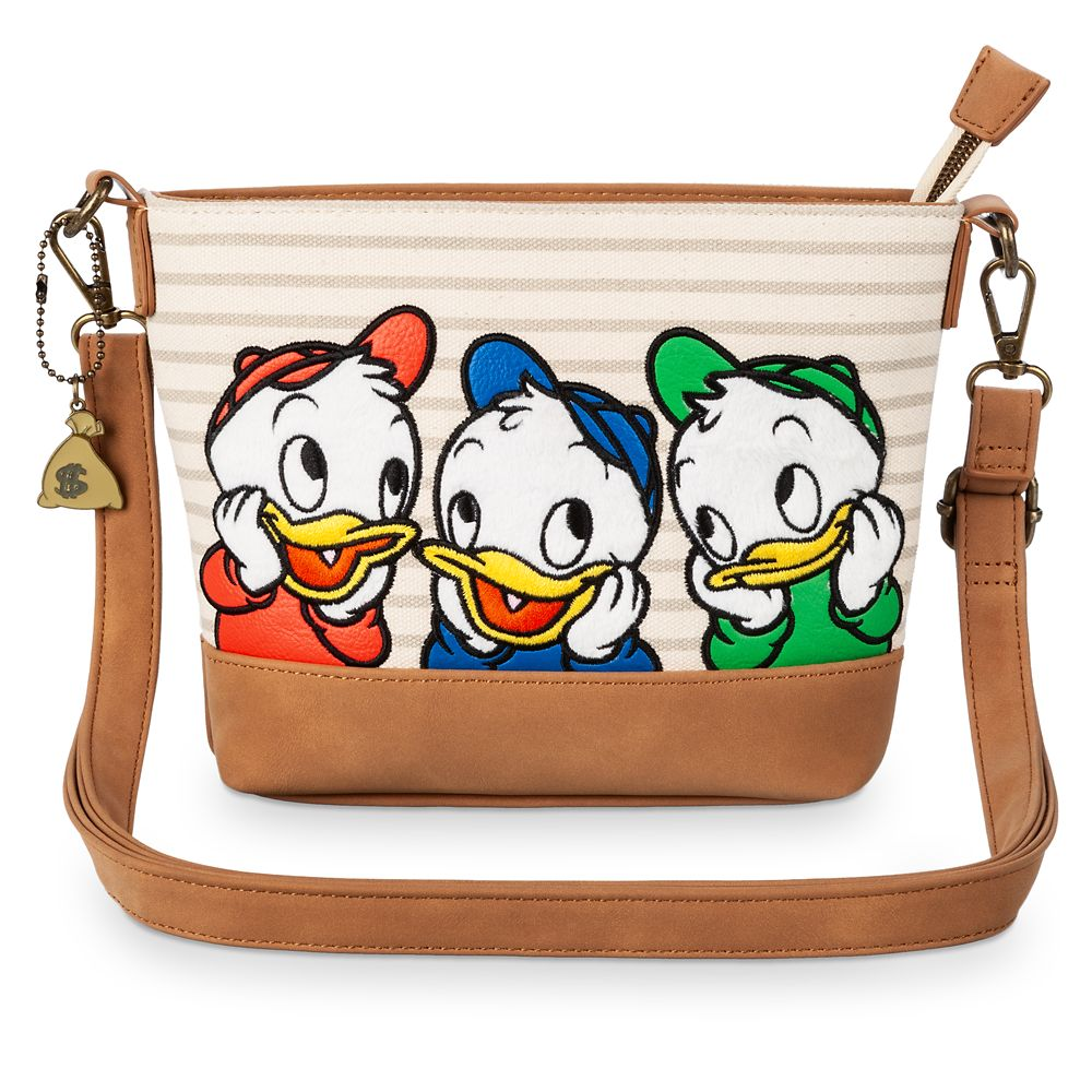 Huey, Dewey, and Louie Crossbody Bag by Loungefly – DuckTales