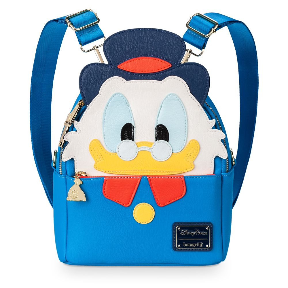 Scrooge McDuck Mini Backpack by Loungefly