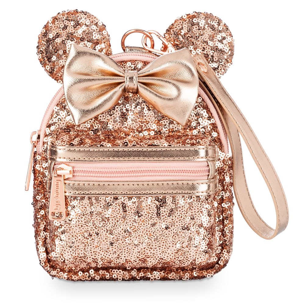 Minnie Mouse Sequin Backpack Wristlet by Loungefly – Briar Rose Gold
