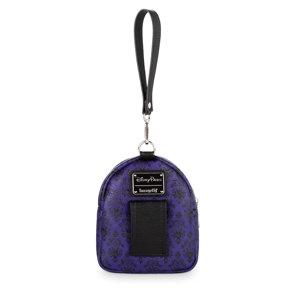 The Haunted Mansion Wallpaper Backpack Wristlet by Loungefly
