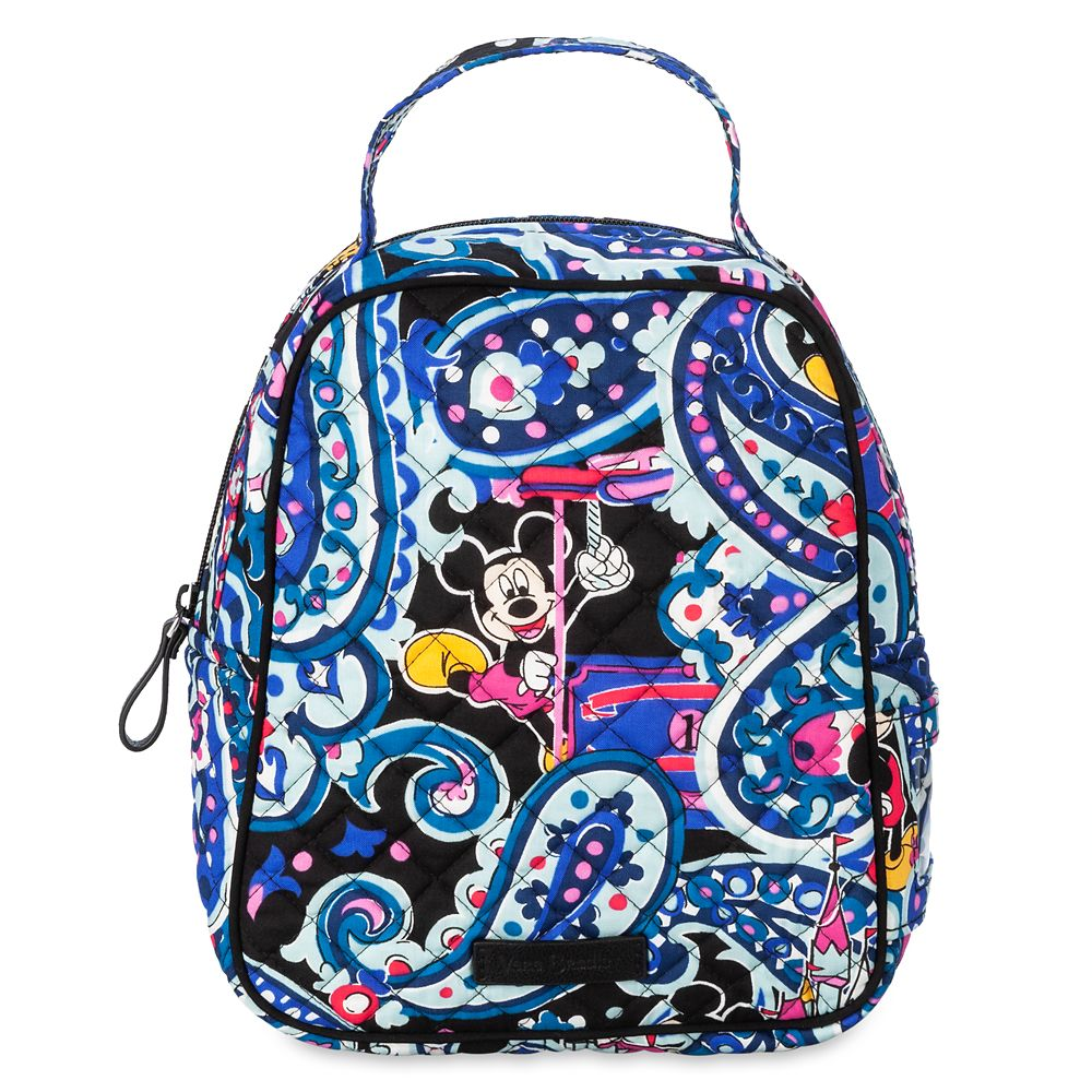 Mickey Mouse Whimsical Paisley Lunch Bunch Bag  by Vera Bradley